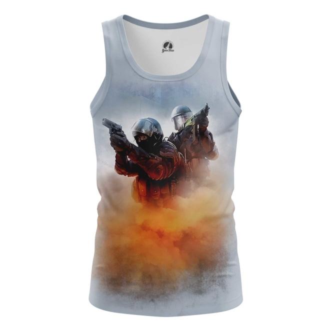 Buy Tank mens t shirt CS GO Shooter Merchandise Game sport Merchandise collectibles