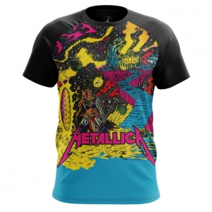 Buy Mens t shirt metallica Merchandise Clothing Fan arts Merchandise collectibles