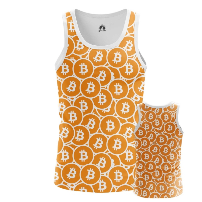 Buy Tank mens t shirt Bitcoin Pattern Merchandise Mining cryptocurrency Merchandise collectibles