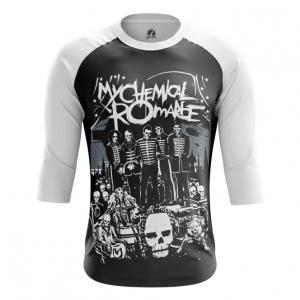 Buy Raglan sleeve mens t shirt My Chemical Romance Band Fan Merchandise Music Merchandise collectibles