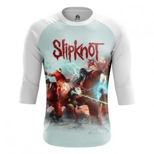 Buy Raglan sleeve mens t shirt Slipknot Band Merchandise Apparel Merchandise collectibles