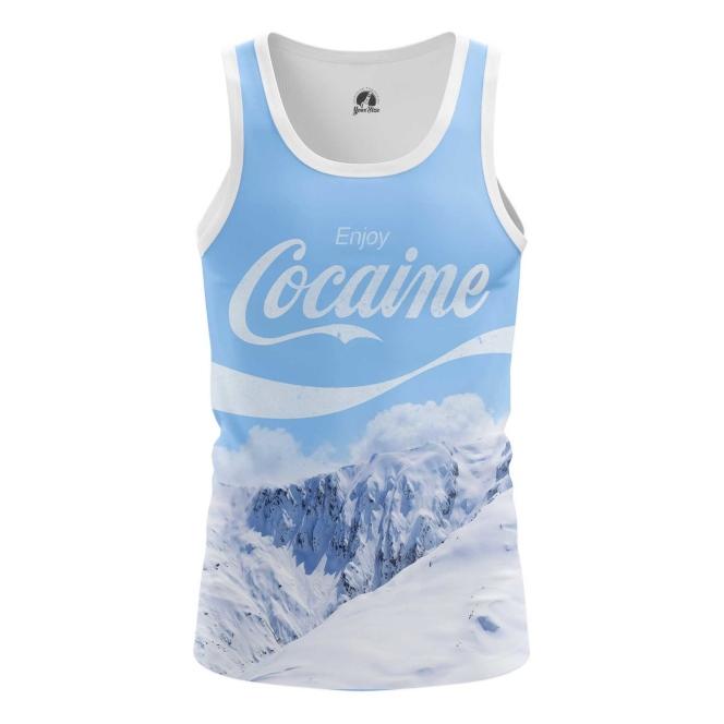 Buy Tank mens t shirt Enjoy Coke Cocaine Mountains merchandise collectibles