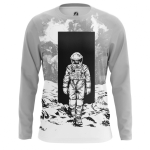 Buy Long sleeve mens t shirt Space Odyssey Art Merchandise Merchandise collectibles
