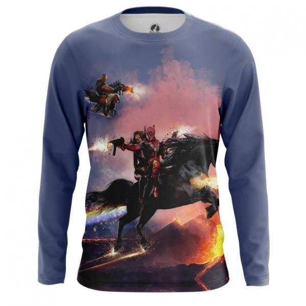 7f90a1fd6db Buy Long sleeve mens t shirt Cable   Deadpool Merch Apparel Merchandise  collectibles