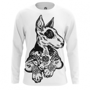 Buy Long sleeve mens t shirt Pit Bull Terrier Fan Merchandise Dog Merchandise collectibles