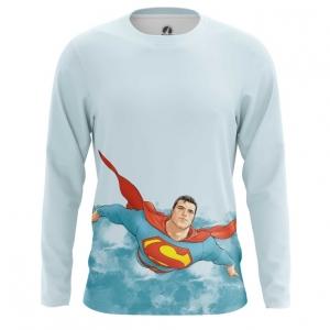 Buy Long sleeve mens t shirt Superman DC Universe kal'el merchandise collectibles