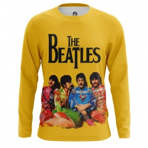 Buy Long sleeve mens t shirt The Beatles Merchandise Band merchandise collectibles