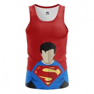 Buy Tank mens t shirt Superman Minimalistic DC Art merchandise collectibles