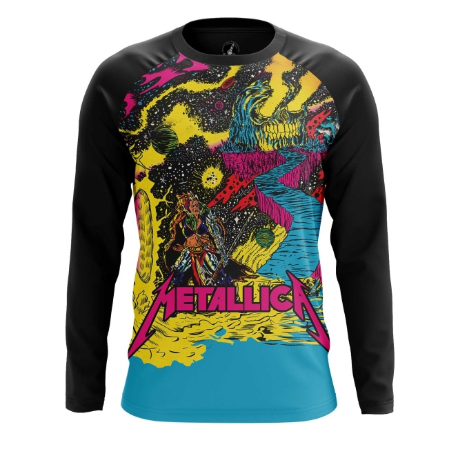 Buy Long sleeve mens t shirt metallica Merchandise Clothing Fan arts merchandise collectibles