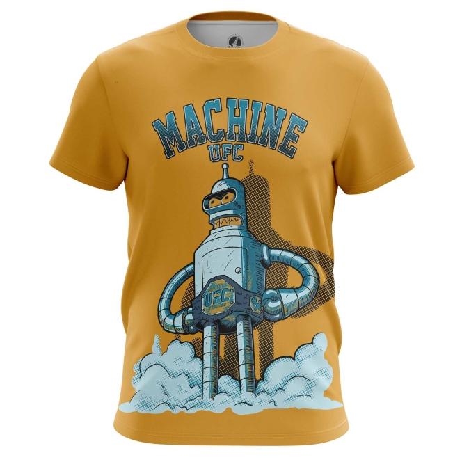 Buy Mens t shirt UFC machine Bender Futurama Crossover merchandise collectibles
