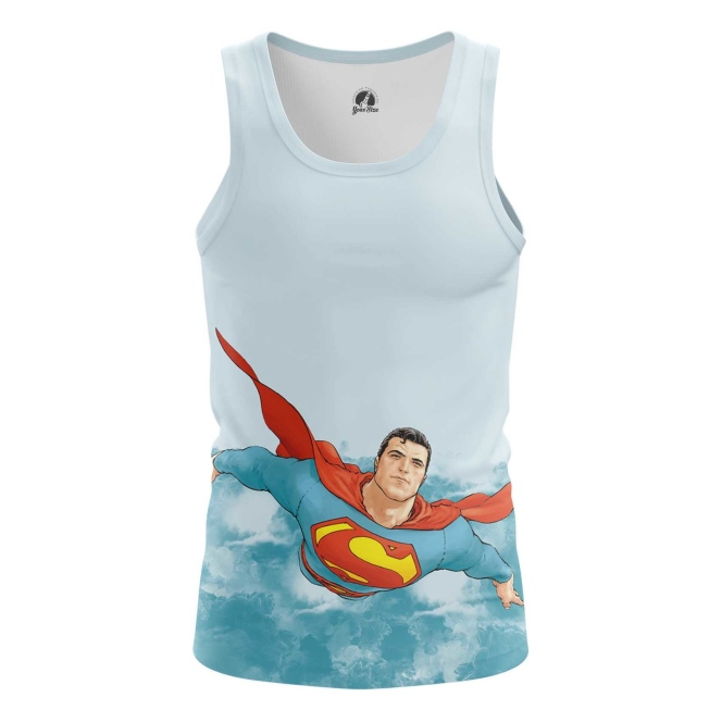Buy Tank mens t shirt Superman DC Universe kal'el merchandise collectibles