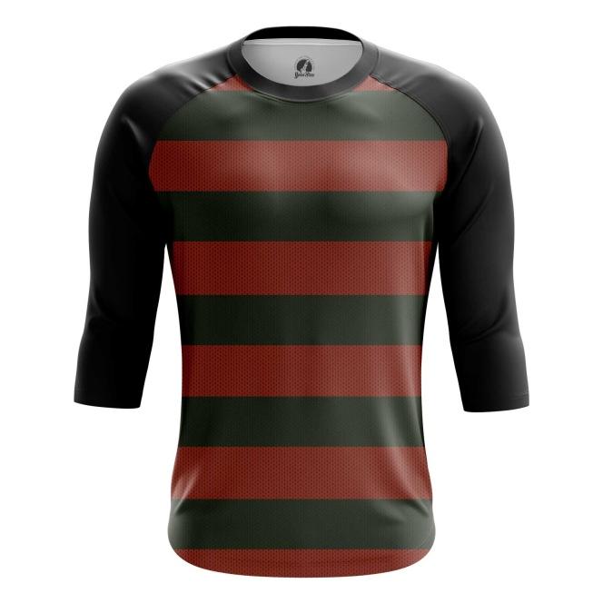 Buy Raglan sleeve mens t shirt freddy krueger shirt art A Nightmare on Elm Street merchandise collectibles