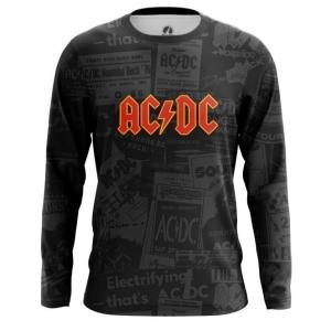 Buy Long sleeve mens t shirt AC DC Merchandise Gear Apparel Fans Merchandise collectibles