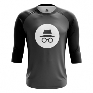 Buy Raglan sleeve mens t shirt Privacy Mode Incognito Web Fun Art Merch Merchandise collectibles
