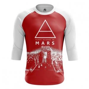 Buy Raglan sleeve mens t shirt 30 Seconds to Mars Band Fan Merchandise Music Merchandise collectibles