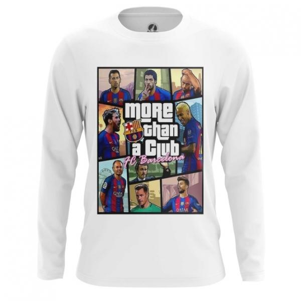 672519ea48a Long sleeve mens t-shirt FC Barcelona GTA Inspired More than a club.  main s3yisa8c-1532099317
