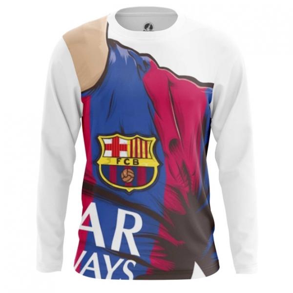 17e1ba813 Long sleeve mens t-shirt Barcelona FC Fan Art – Shop merchandise on ...