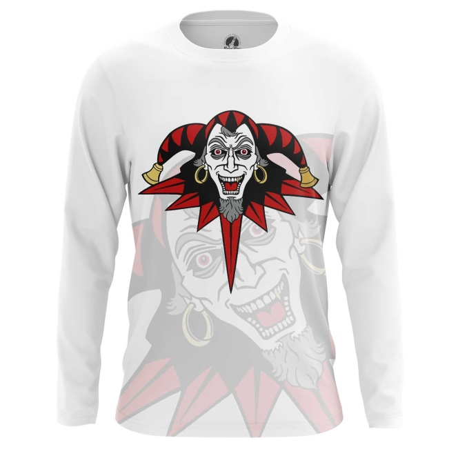Buy Long sleeve mens t shirt Joker Harlequin Apparel Merch merchandise collectibles
