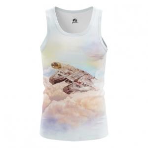 Buy Tank mens t shirt Millennium Falcon Star Wars Ship Art merchandise collectibles