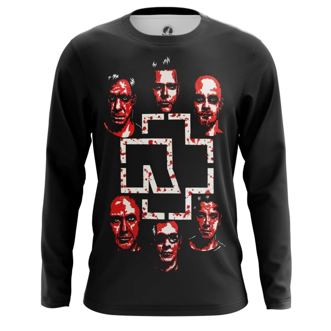 Buy Long sleeve mens t shirt Rammstein Music Merchandise Band Apparel merchandise collectibles