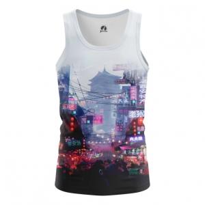 Buy Tank mens t shirt Asia Chinatown Asian City Japan China merchandise collectibles