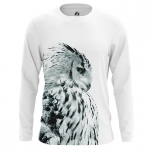 Buy Long sleeve mens t shirt Polar Owl Birds Art Animals Apparel Shirts Merchandise collectibles