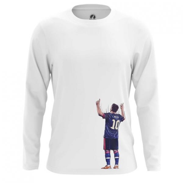 dbf50a31613 Long sleeve mens t-shirt Lionel Messi Fan Art 10. main tpyxw6y4-1532093125