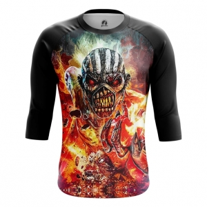Buy Raglan sleeve mens t shirt Iron Maiden Merchandise Apparel The Book of Souls Merchandise collectibles