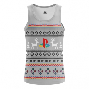 Buy Tank mens t shirt Playstation New Year X mas Christmas Special Apparel merchandise collectibles
