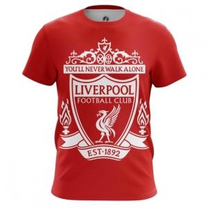 Buy Mens t shirt Liverpool Fan Merchandise Football merchandise collectibles