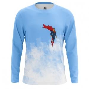 Buy Long sleeve mens t shirt Superman Clark Kent DC Art merchandise collectibles