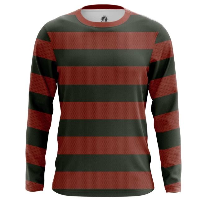 Buy Long sleeve mens t shirt freddy krueger shirt art A Nightmare on Elm Street merchandise collectibles