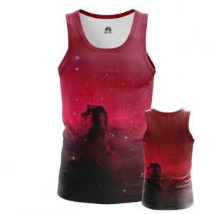 Buy Tank mens t shirt Horsehead Nebula Space Universe Print Merchandise collectibles