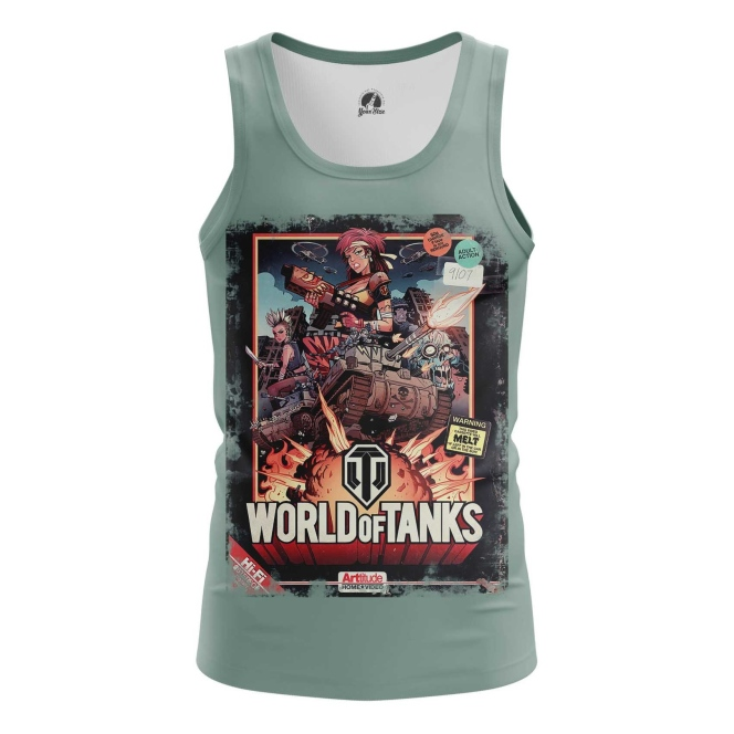 Buy Tank mens t shirt World of Tanks Fan Art Apparel Illustration Merchandise Merchandise collectibles