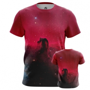 Buy Mens t shirt Horsehead Nebula Space Universe Print Merchandise collectibles