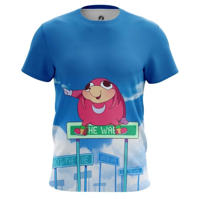 Buy Mens t shirt Da wei Meme Sonic Web Fun Art merchandise collectibles