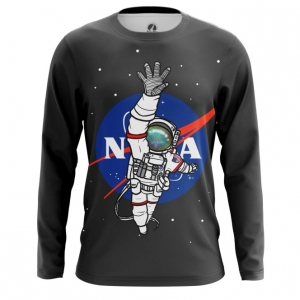 Buy Long sleeve mens t shirt NASA Space Merchandise Universe Apparel Merchandise collectibles