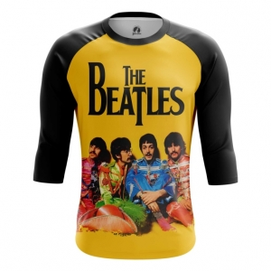 Buy Raglan sleeve mens t shirt The Beatles Merchandise Band Merchandise collectibles