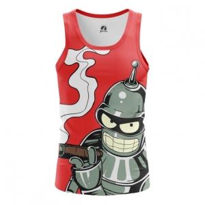 Buy Tank mens t shirt Bender Futurama TV Series merchandise collectibles