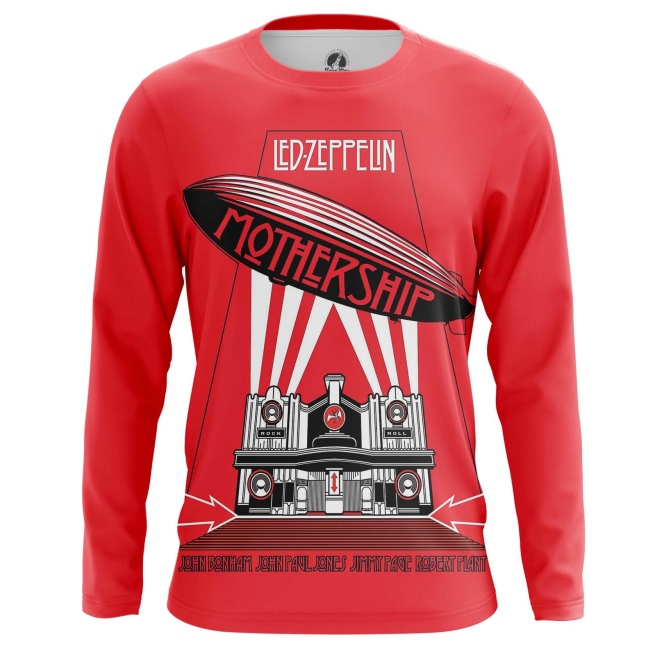 Buy Long sleeve mens t shirt Led Zeppelin Band Fan Merchandise Music Merchandise collectibles