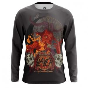 Buy Long sleeve mens t shirt Slayer Band Fan Merchandise Music Merchandise collectibles