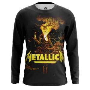 Buy Long sleeve mens t shirt Metallica Band Apparel Merchandise Fans Props merchandise collectibles