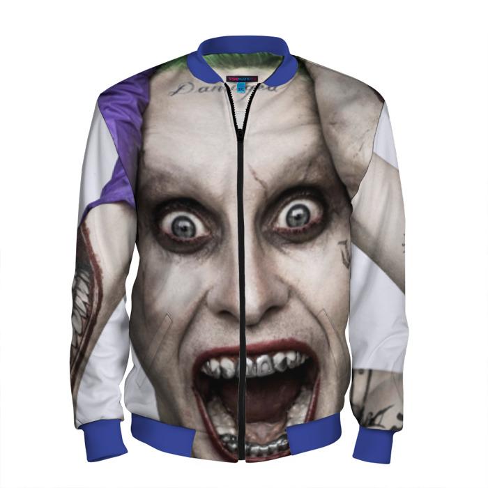 Buy Men's Bomber Jacket Joker Jared Leto Merchandise Merchandise collectibles