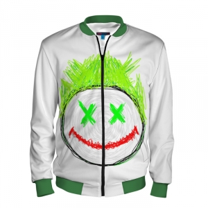 - People 101 Man Bomber Front Green 700 11