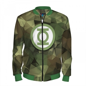- People 101 Man Bomber Front Green 700 15