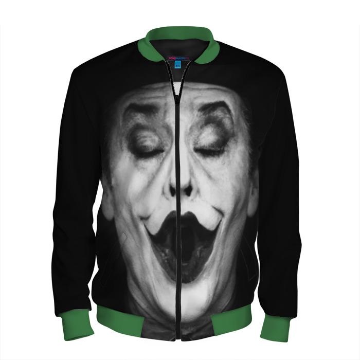Buy Men's Bomber Jacket Jack Nicholson Joker Baseball Apparel Merchandise collectibles