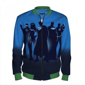 Merchandise Baseball Jacket Justice League Merchandise