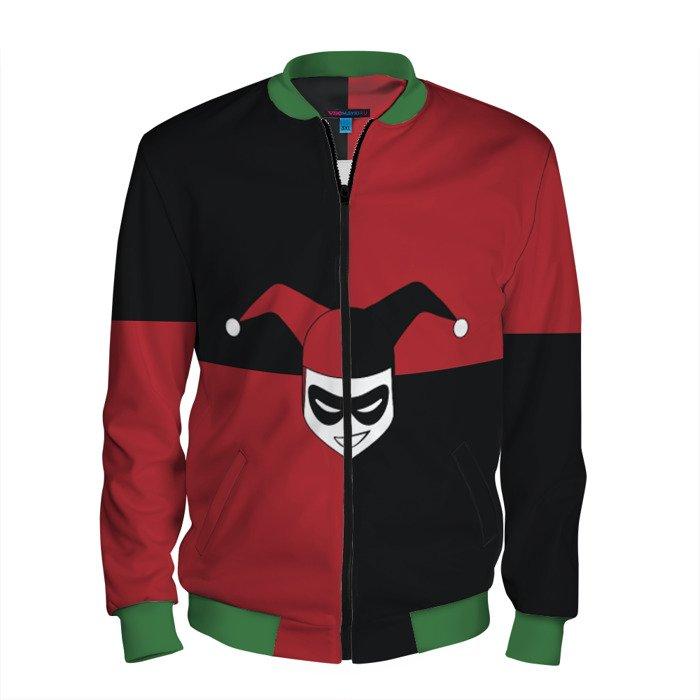 Buy Men's Bomber Jacket Harley Quinn Suicide Squad Merchandise collectibles