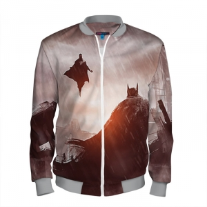 Buy Men's Bomber Jacket Batman Superman Dawn of Justice Merchandise collectibles