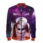 Merch Baseball Jacket Harley Quinn As Nurse Suicide Squad